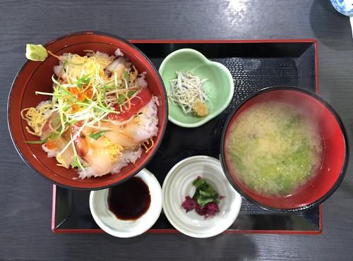 海鮮丼大盛♪