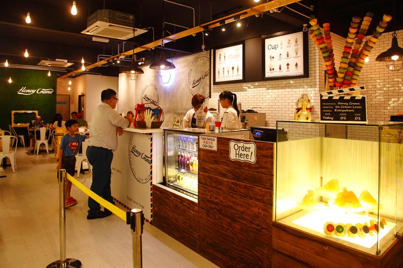 Honey Creme Ice Cream Desa Sri Hartamas
