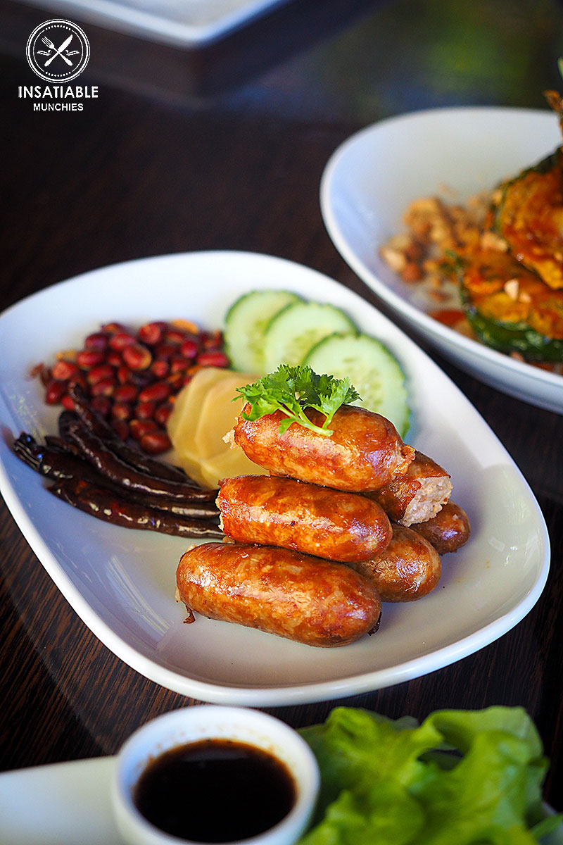 Sai Krok Isaan, $13.50: Spice I am, Darlinghurst. Sydney Food Blog Review