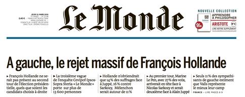 16c30 Hollande rechazo masivo de las izquierdas Uti 485