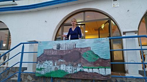 Pinturas de Isla Mediterránea, Mil Palmeras