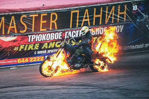 Шоу каскадеров «Русский Форсаж»