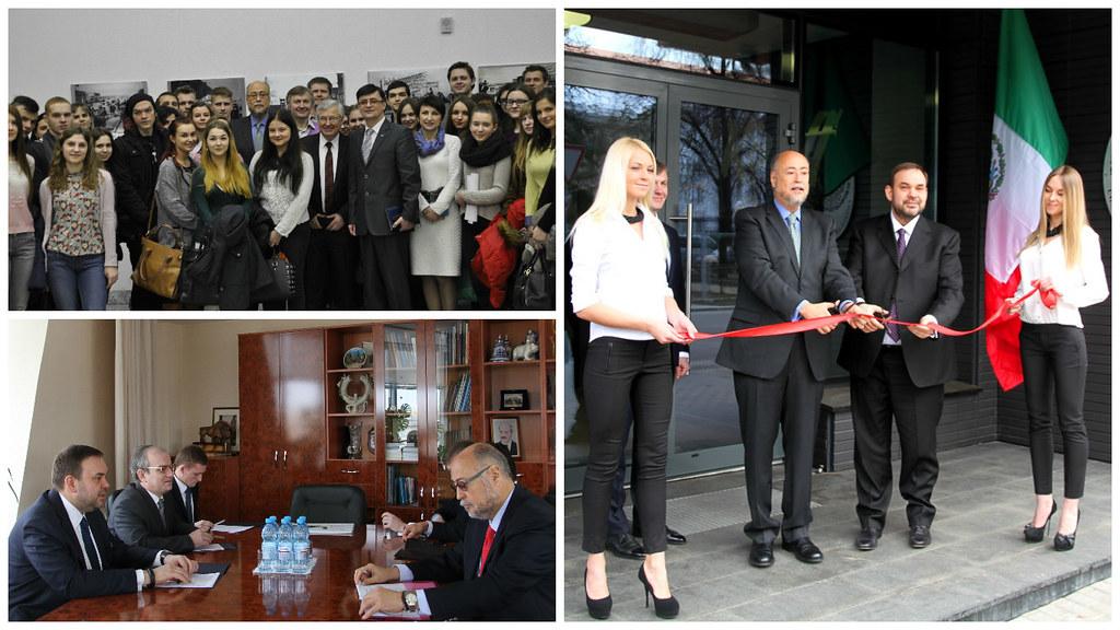Inauguración del Consulado Honorario de México en Minsk