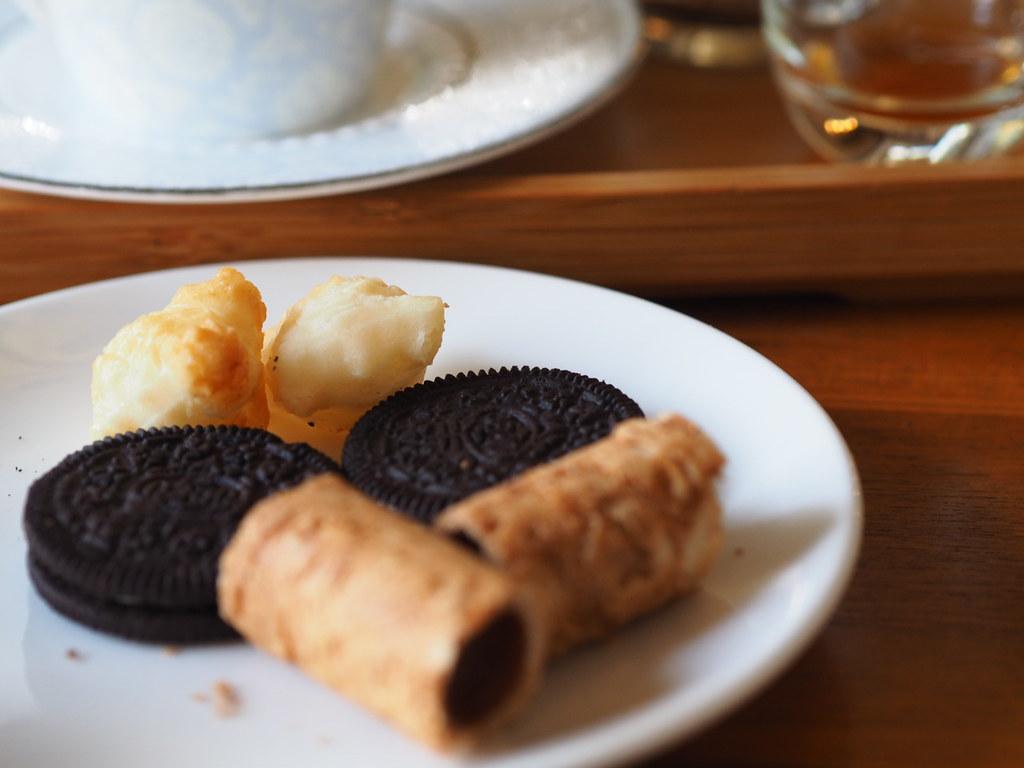 甜在心咖啡館の珈琲に付いてくるお菓子