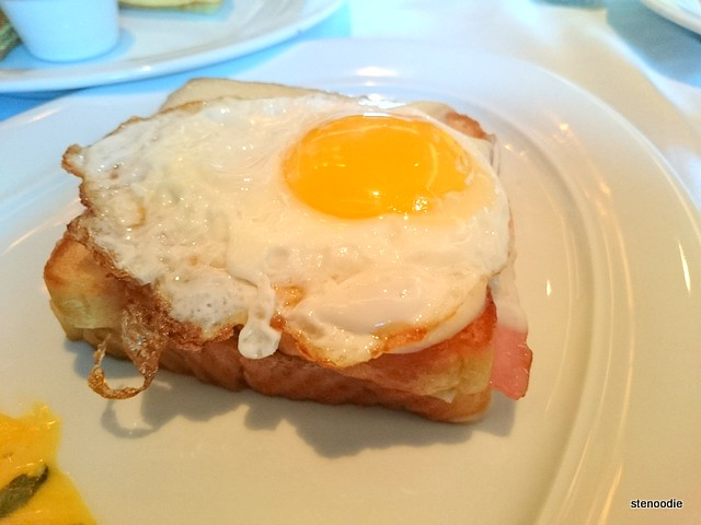 Sandwich: Croque Madame