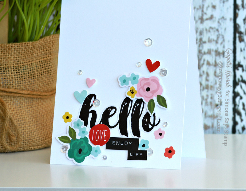 hello card closeup #1