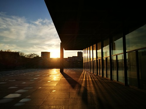 Sunset @ Neue Nationalgalerie