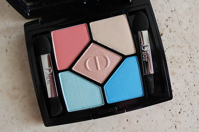 Dior Milky Dots 5 Couleurs Eyeshadow Palette in 366 Bain de Mer review