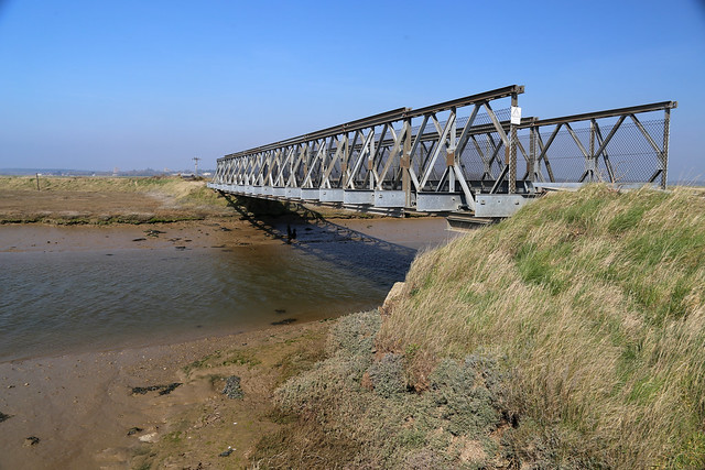 The Bailey Bridge over Stony Ditch, Orford Ness