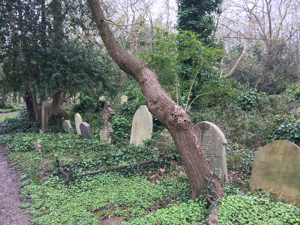 Highgate Cemetery - East Side
