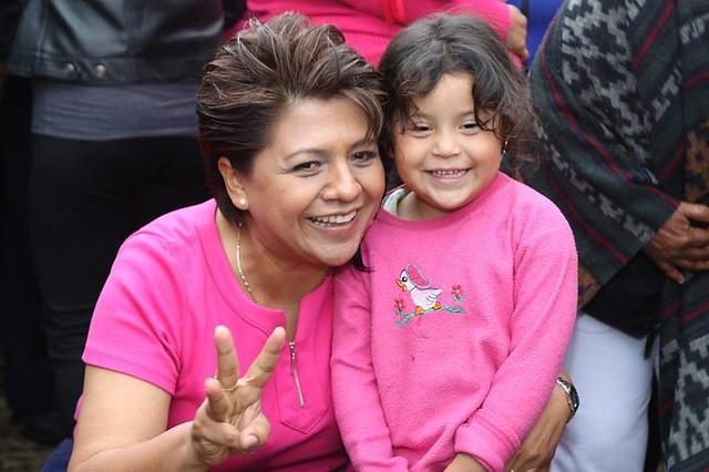 Alba Leonila en campaña