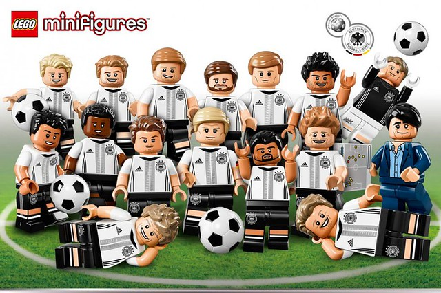 LEGO Minifigure Series 71014 - German DFB National Football Team