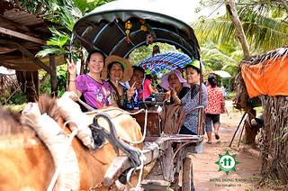 Tour Miền Tây 2 Ngày 1 Đêm - đi  xe ngựa