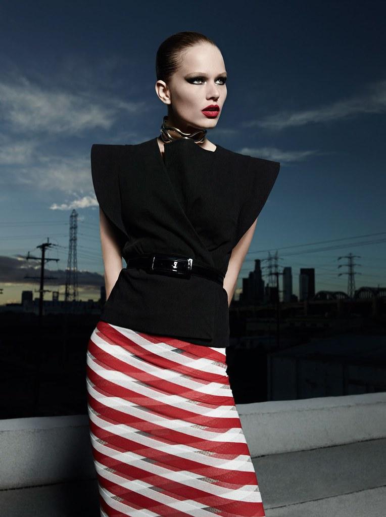 Анна Эверс — Фотосессия для «Vogue» FR 2016 – 8