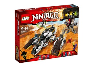 LEGO Ninjago 70595 Ultra Stealth Raider box
