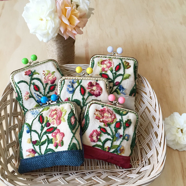 07.Oct.15 Vintage Floral purses