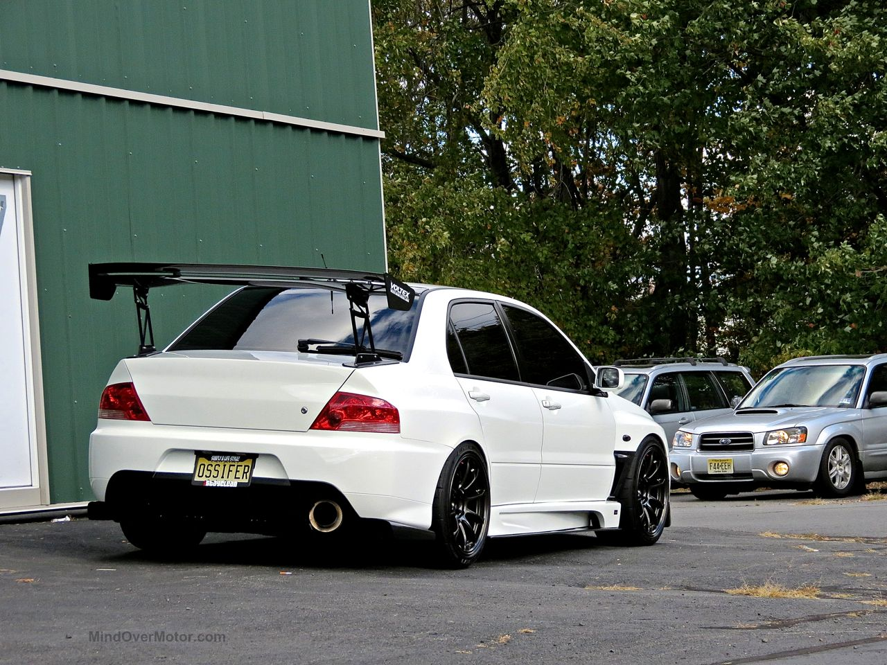 Modified Mitsubishi Lancer Evo First Class Fitment 4
