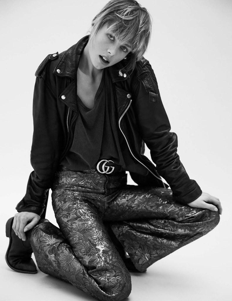 Эди Кэмпбелл — Фотосессия для «Vogue» FR 2016 – 18