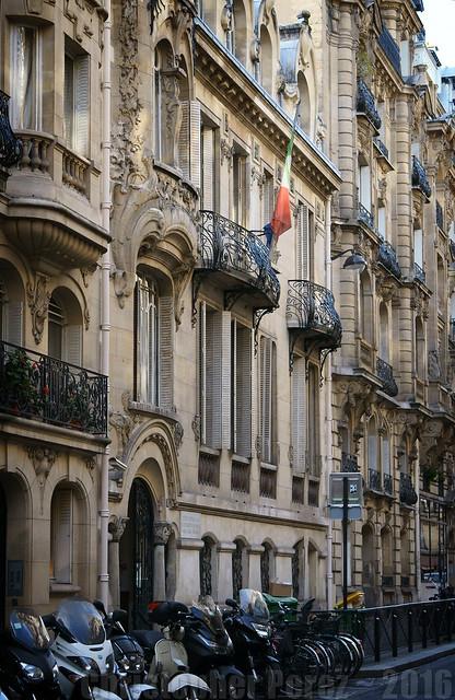 Hôtel Montessuy ~ 7eme ~ Paris ~ Art Nouveau