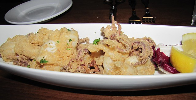 Calamari at Scales Seafood & Steaks