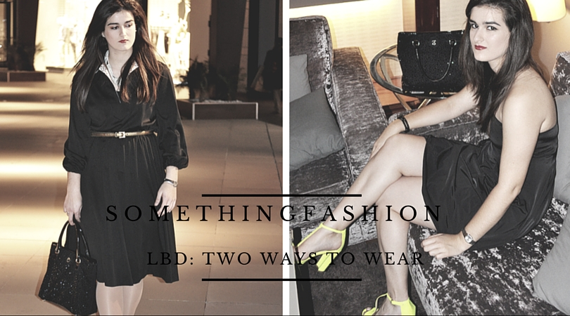 valencia spain fashion blogger somethingfashion LBD LWD littleblackdress how to wear style streetstyle chanel tiffanys4