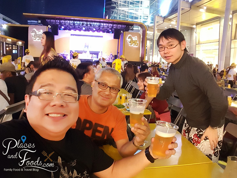 singha beer garden central world cheers