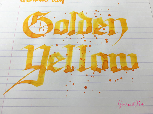 Ink Shot Review Montblanc Golden Yellow @AppelboomLaren @Montblanc_World (9)