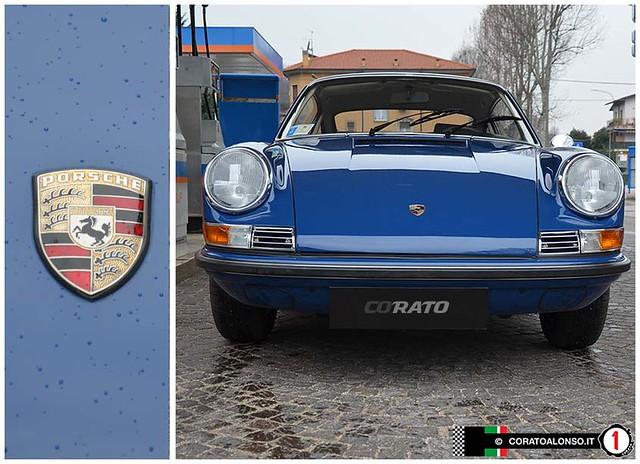 Restauro: Porsche 911 s coupe 1969 ossi blu