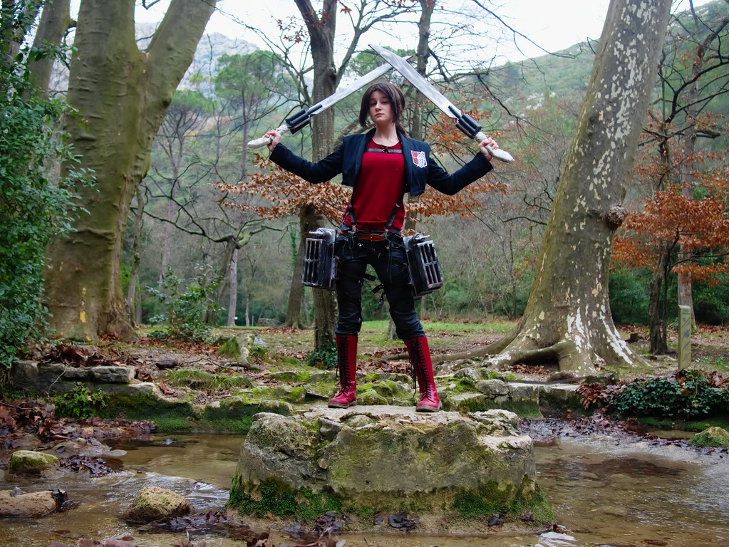 related image - Shooting Shingeki no Kyojin - Parc de Saint Pons - Gemenos - 2015-12-19- P1260361