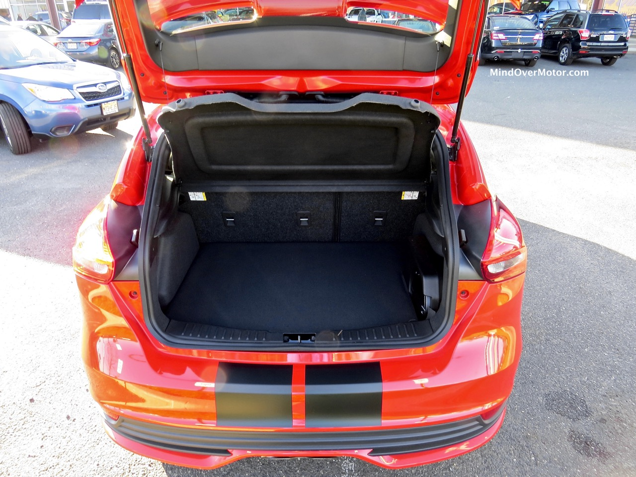 Ford Focus ST Cargo Bay