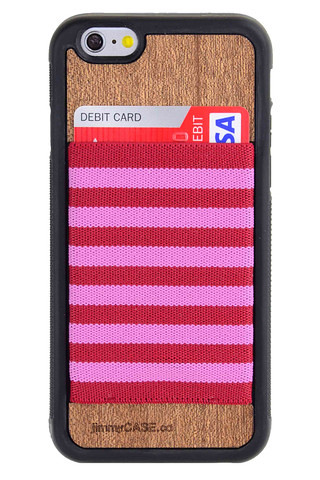 iPhone_6_wallet_case_by_jimmyCASE_Pink_Red_Stripe_Stripe_Black_Bumper_large