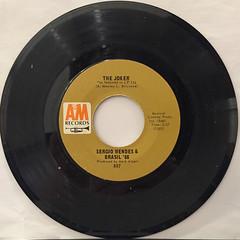 SERGIO MENDES & BRAZIL '66:MAS QUE NADA(RECORD SIDE-B)