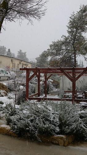 Snow Jan 2016 Kfar Etzion