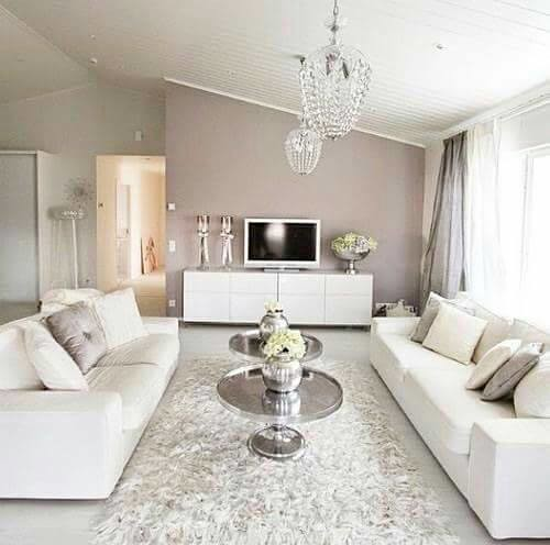 What do you think of this elegant & simple living space?
