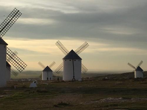 Molinos (windmills), Campo de Criptana, Castilla-La Mancha, Spain.
