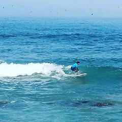 Surfeando.