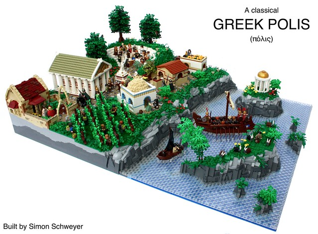 A Classical Greek Polis - LEGO Grèce