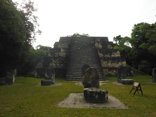 Complex Q i R de Tikal.