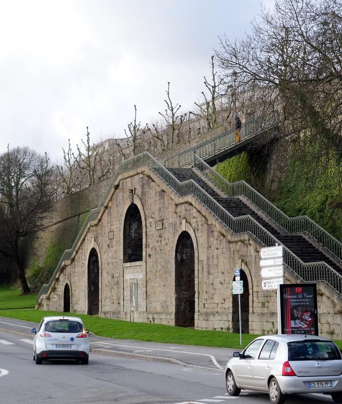 Brest, de l'église Saint Martin au Colbert