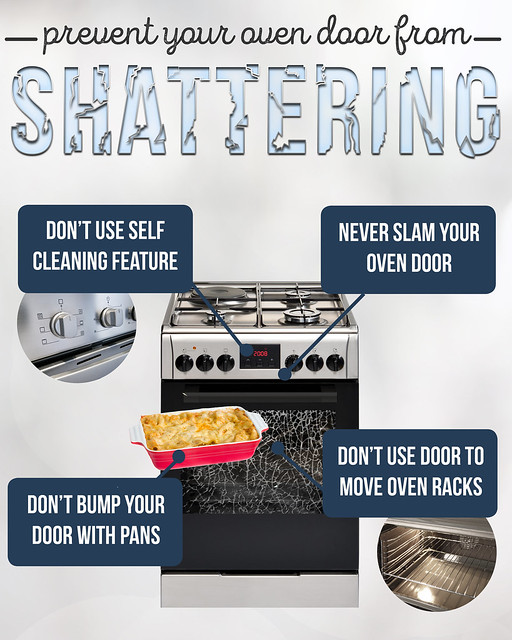 How To Prevent Your Oven Door From Shattering