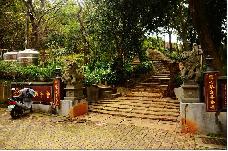 貴山公園步道口