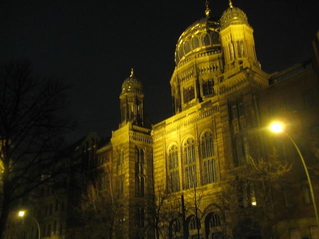 Neue Synagoge in der Oranienburger Straße