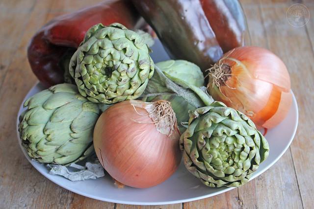 Andrajos con bacalao de Jaen www.cocinandoentreolivos.com (4)