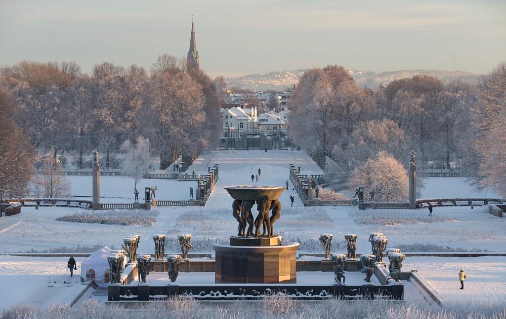 Frognerparken, Oslo, Norway.