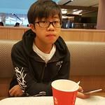 Hong Kong student on holidays