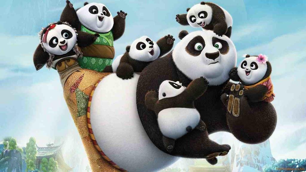 Peluches de Kung Fu Panda 3