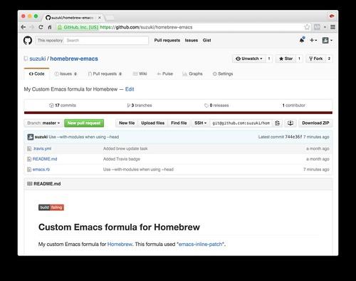 homebrew-emacs