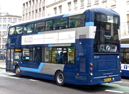 SM65 LNC 'First South Yorkshire' 35137 Wright Streetdeck.
