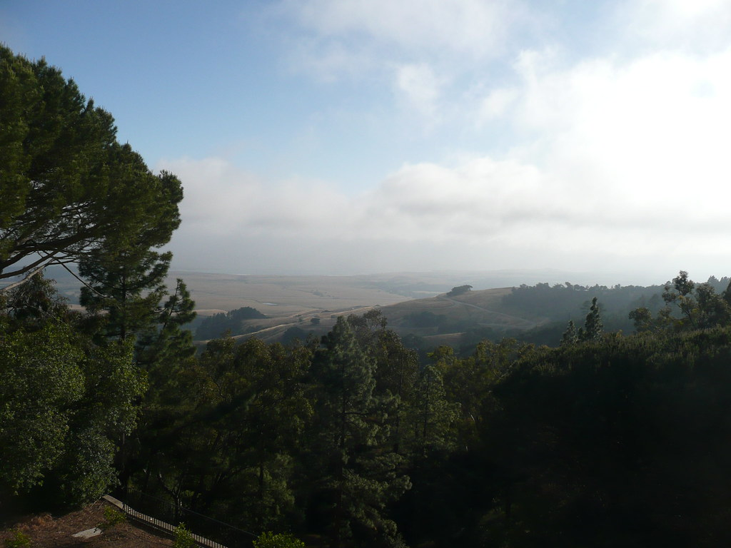 Incredible views from Hearst Castle