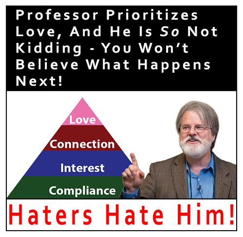 Haters hate him!